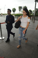 Sara Ali khan Daughter of Saif Ali Khan Spotted in White T Shirt at Airport ~  Exclusive Picture Galleries 004.jpg