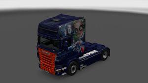 Scania RJL Robin Williams Skin