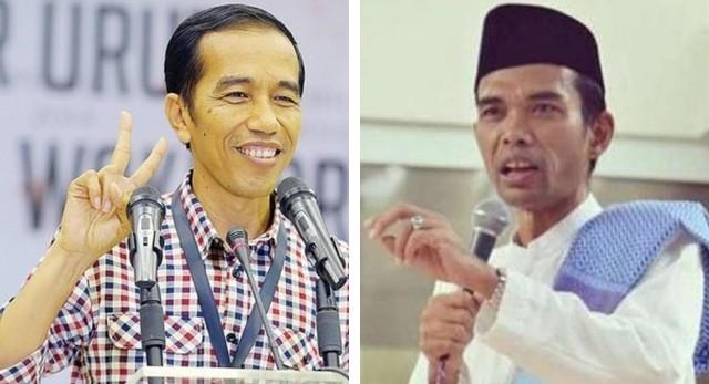 Ditanya Soal Kepemimpinan Jokowi, Jawab Ustad Somad: Mantab!!