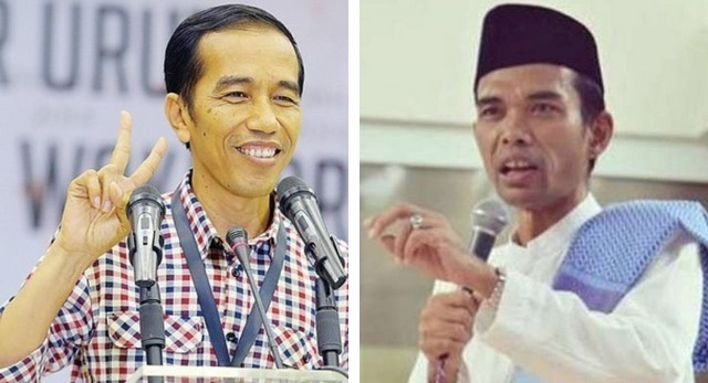 PPP Buka Peluang Ustad Abdul Somad dan Aa Gym Jadi Cawapres Jokowi