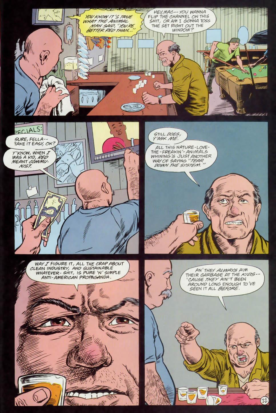 Read online Animal Man (1988) comic -  Issue #74 - 23