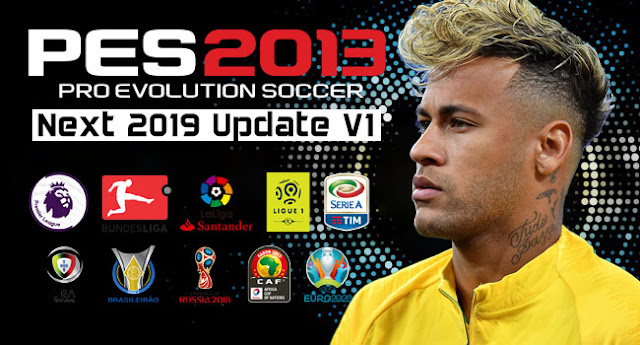 PES 2013 Next Season Patch 2019 Update v1.0 Released 21-06-2018