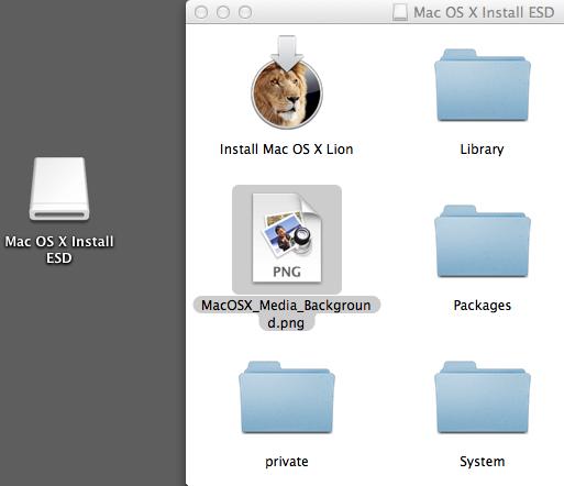 pjvenda / blog: Creating Mac OS X Lion Installation media