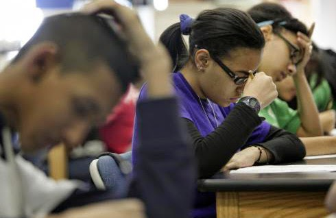 Low income students taking SAT