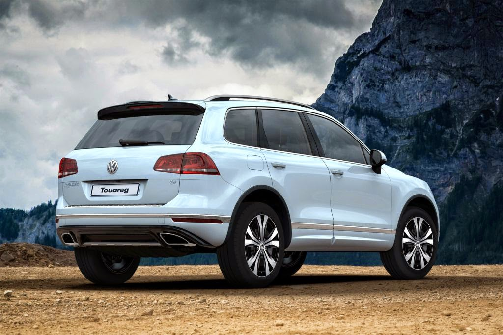 Volkswagen Touareg New features with more technology and new design