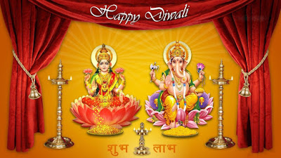 lord ganesha diwali wallpaper