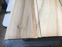 Grooves cut into the boards