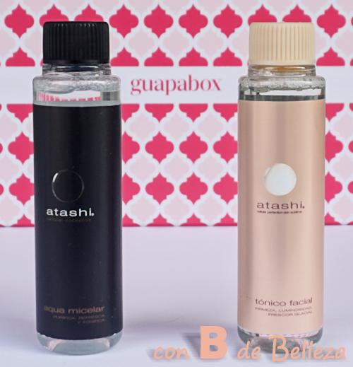 Agua micelar y tónico Atashi