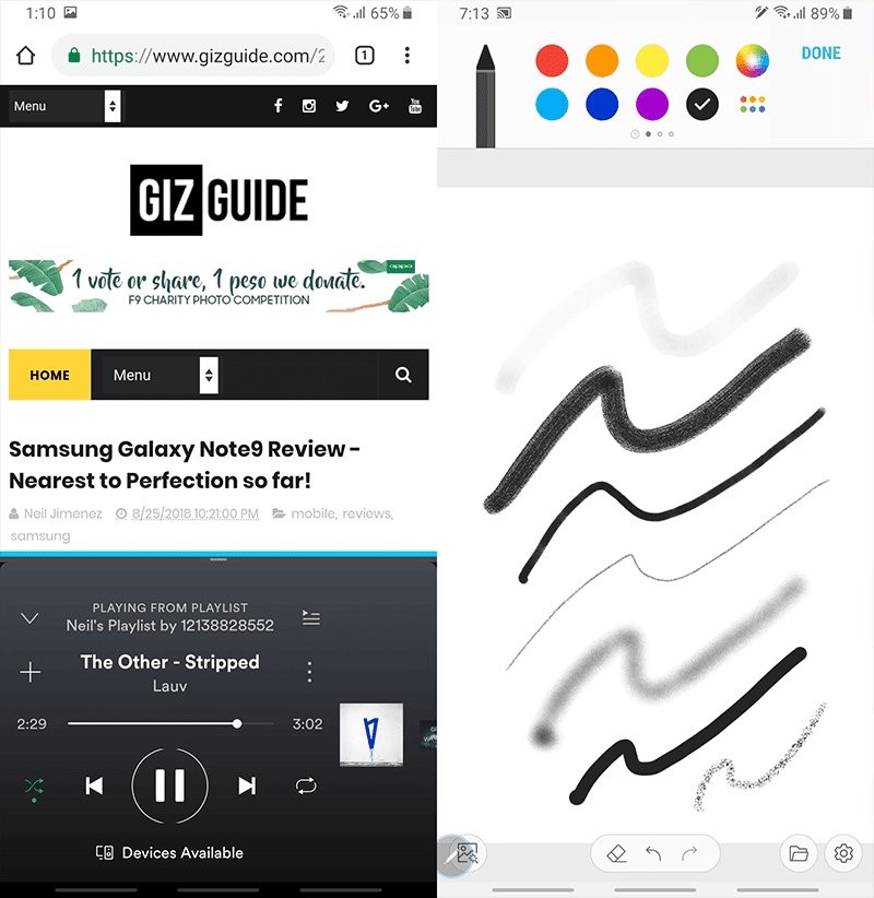 The two features that make the Note series so unique