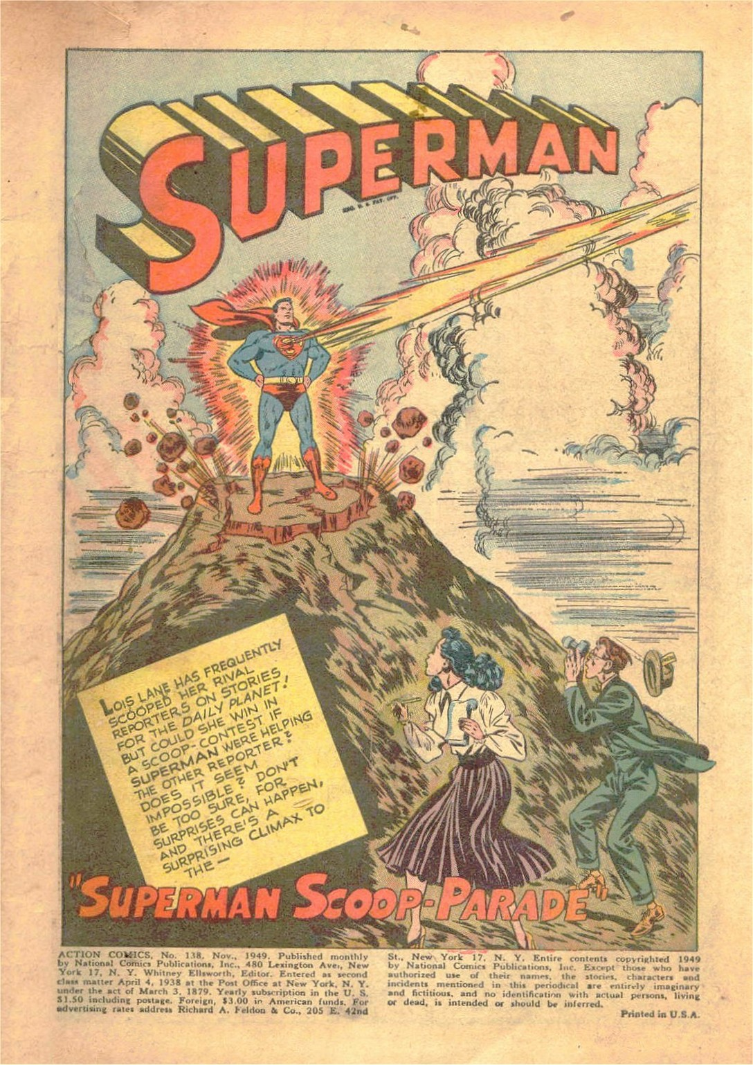 Read online Action Comics (1938) comic -  Issue #138 - 2