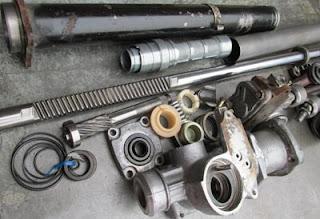 Cremallera asistida hidraulicamente Honda Accord