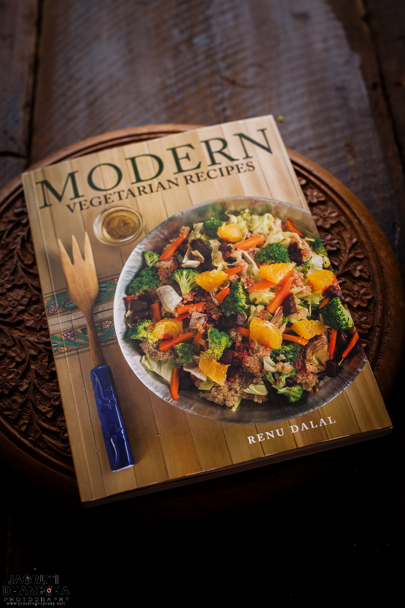 Modern Vegetarian Recipes, a new cook book launched by Renu Dalal , daughter of late Mrs Tarla Dalal
