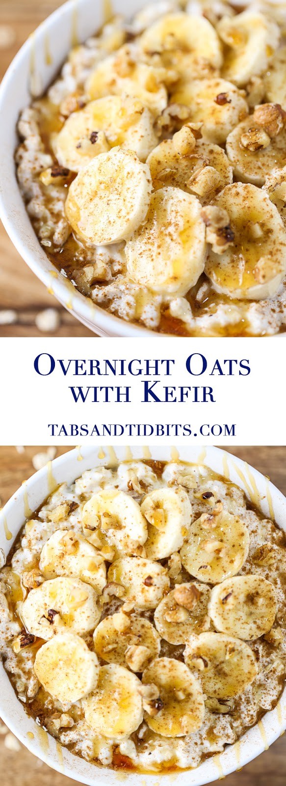 OVERNIGHT OATS WITH KEFIR RECIPES