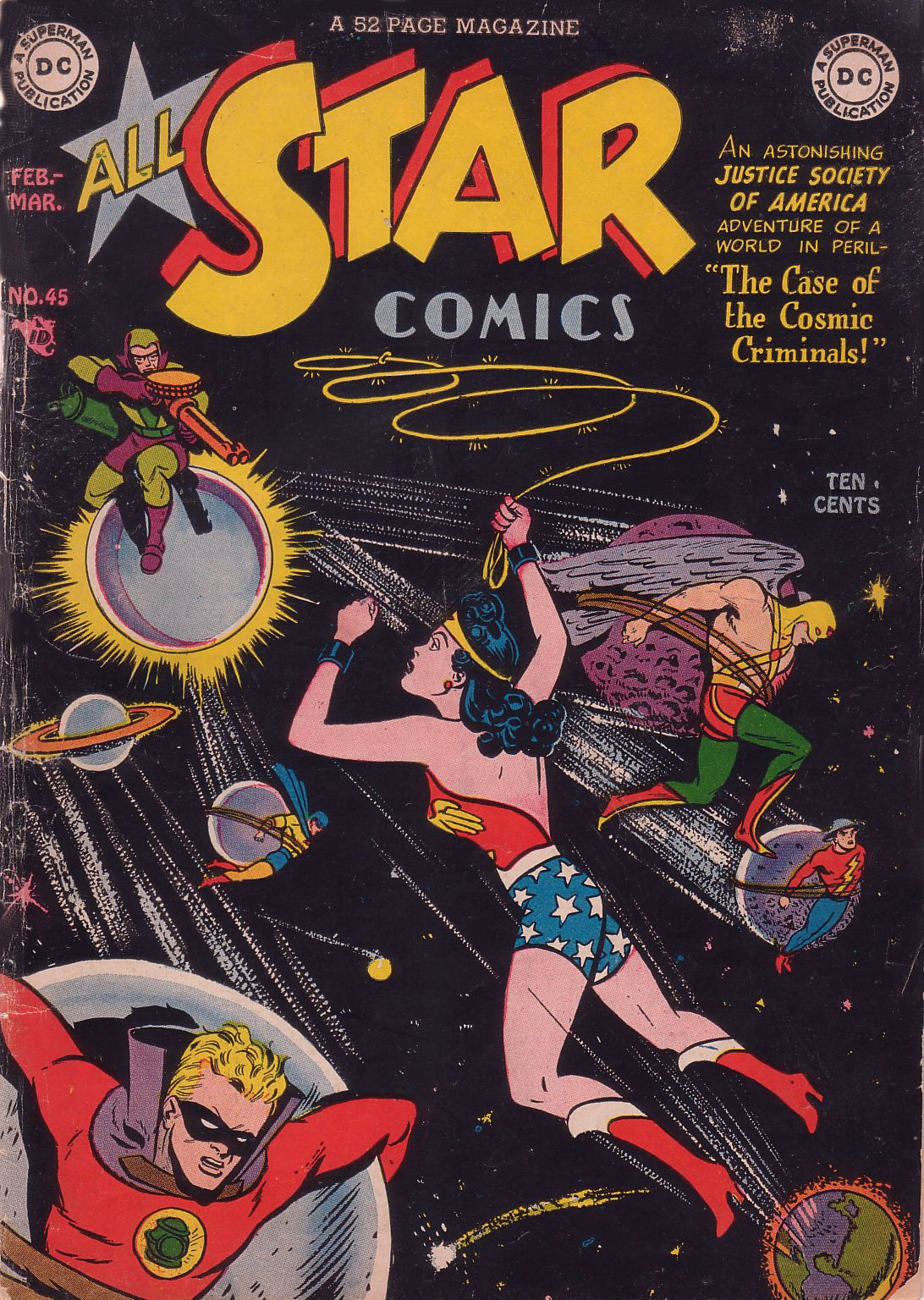 All-Star Comics (1940) 45 Page 1