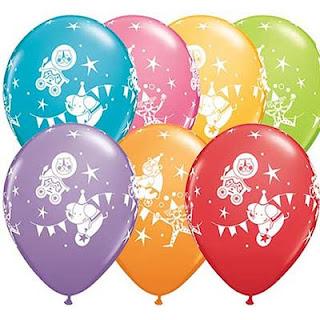воздушные шарики  с цирком