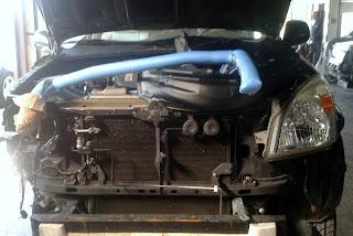talleres chapa pintura y mecanica, talleres chapa y pintura mostoles coche sustitución