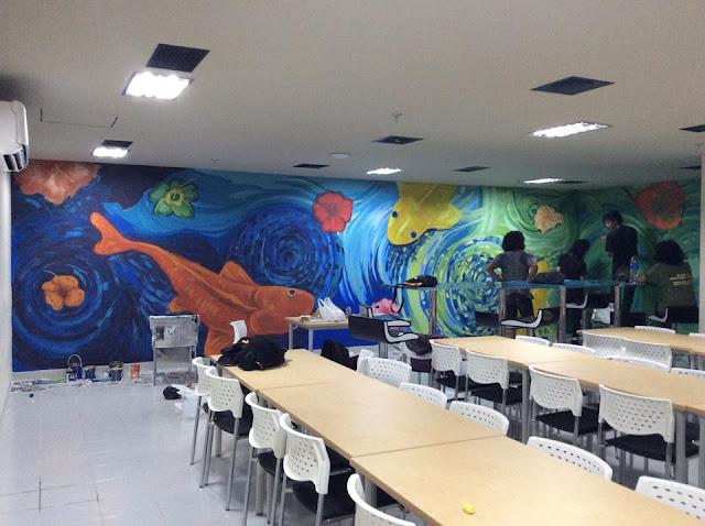 jasa mural yogyakarta, Lukis Dinding, Wall painting