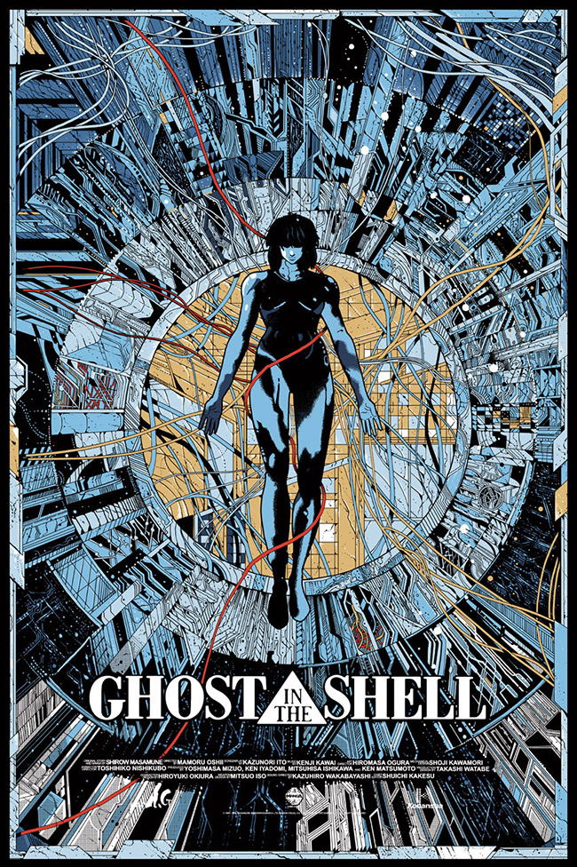 Kilian Eng aka DW Design - Ghost in the Shell