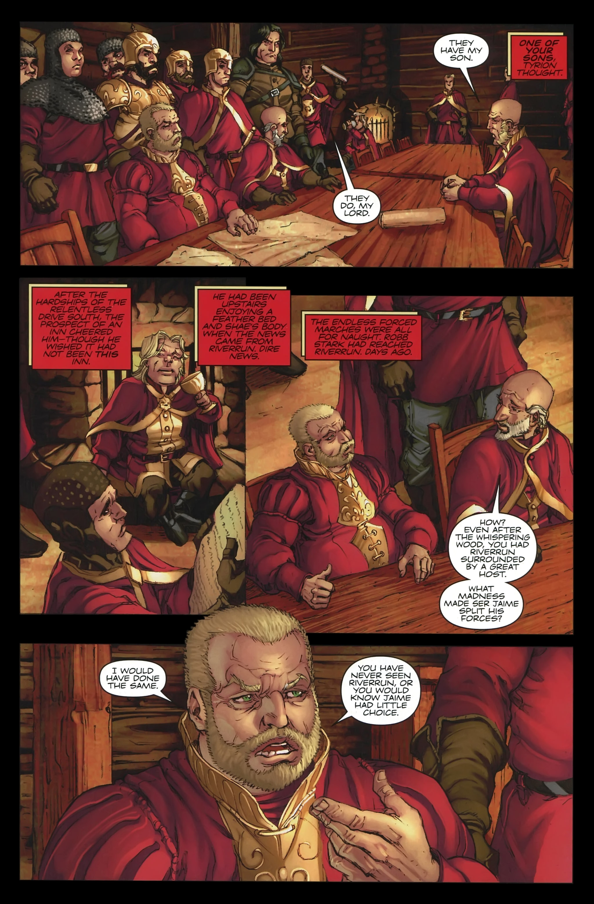 Read online A Game Of Thrones comic -  Issue #23 - 13
