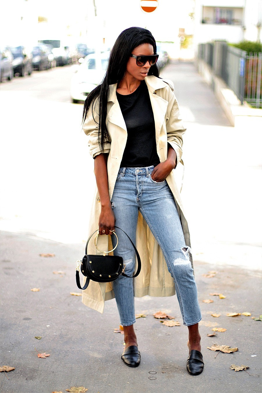 trench-long-pas-cher-sac-chloe-nile-dupe-blog-mode