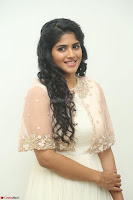 Megha Akash in beautiful Cream Transparent Anarkali Dress at Pre release function of Movie LIE ~ Celebrities Galleries 007.JPG