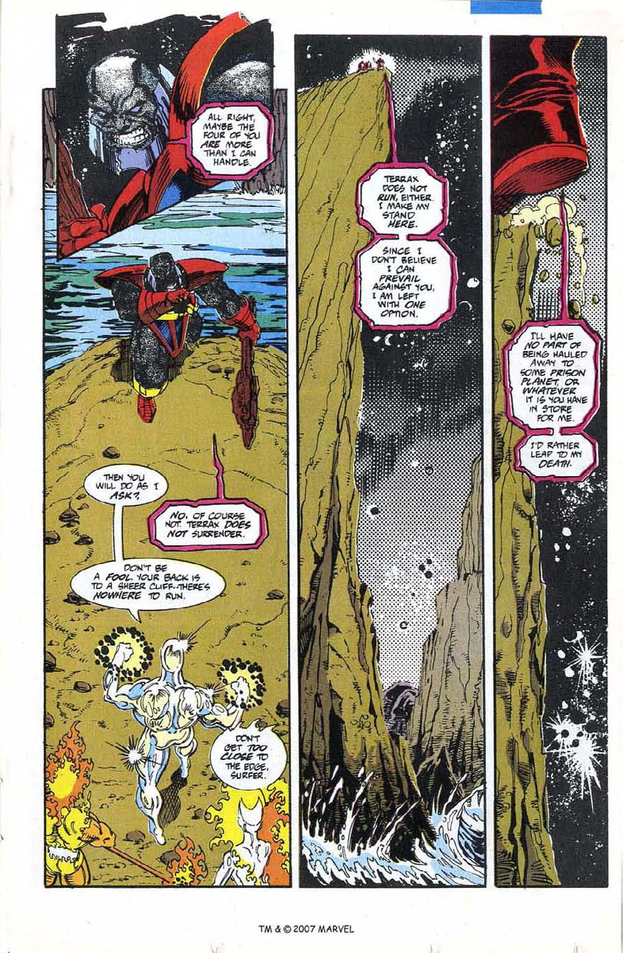 Read online Silver Surfer (1987) comic -  Issue #74 - 17