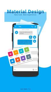 تحميل برنامج جو اس ام اس GO SMS Pro APK App 2017 آخر اضدار للأندرويد
