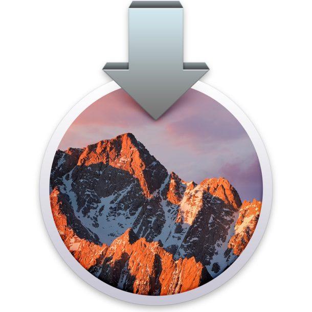 Geliştiriciler için Apple macOS Sierra 10.12.2 Beta 3