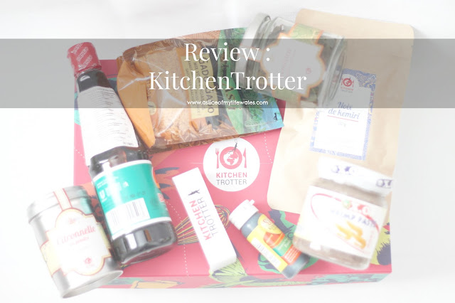 blog review of kitchen trotter exotic cuisine food subscription box