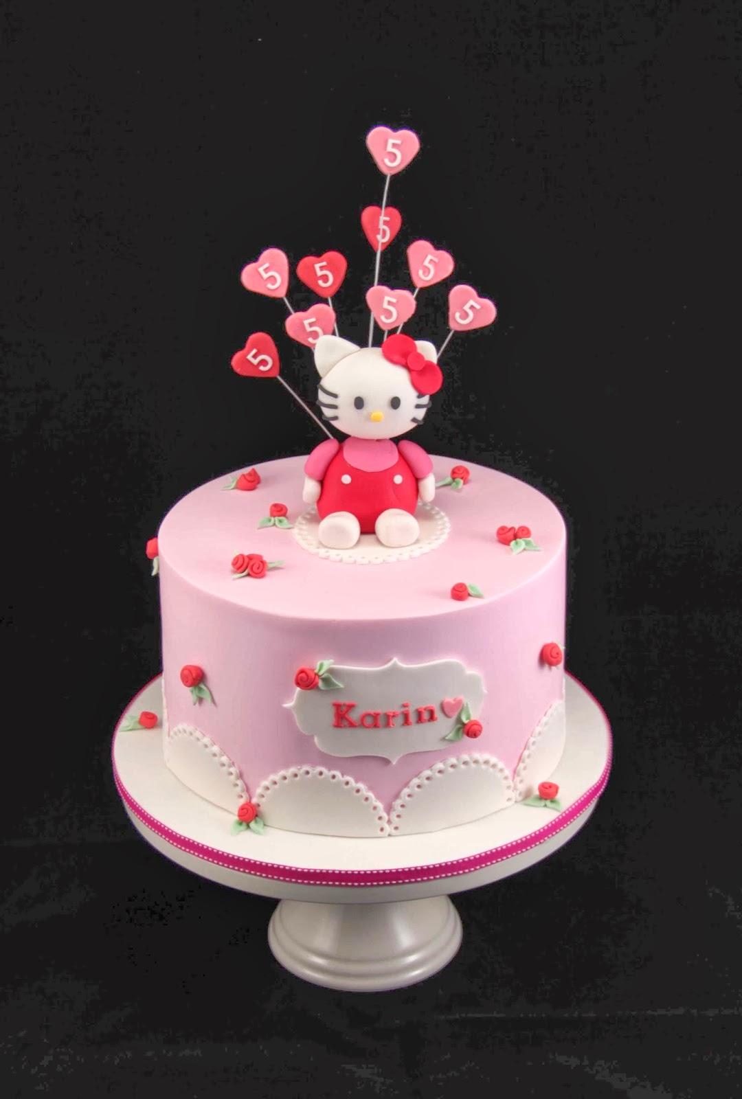 Bakerz Dad Hello Kitty Cake
