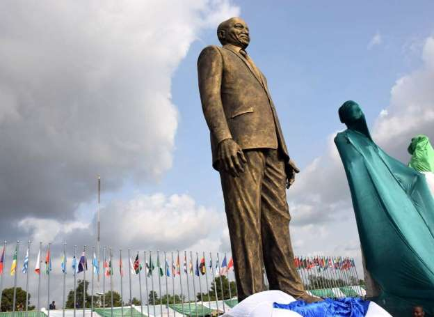Nigeria's Imo State honours Zuma with statue