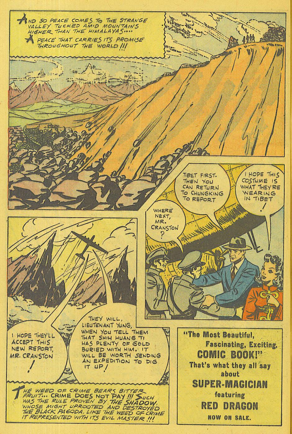 Read online Shadow Comics comic -  Issue #71 - 8