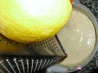 Rallando el limón