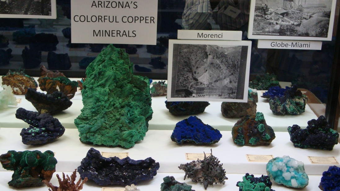 CSMS GEOLOGY POST: DENVER GEM SHOW: COPPER 2012