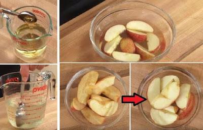 Mantenga sus frutas y verduras frescas para más de 24 horas con este truco simple e inteligente