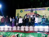 <b>Warga Antusias Menghadiri Acara Pembukaan MTQ tingkat Desa Nipa</b>