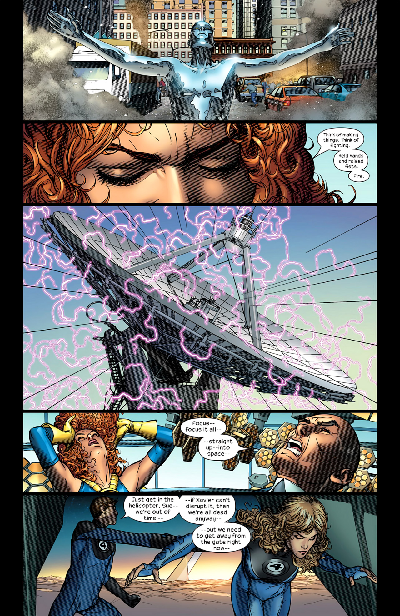 Read online Ultimate Extinction comic -  Issue #5 - 14