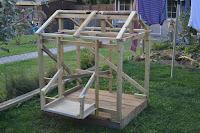 building a hen house