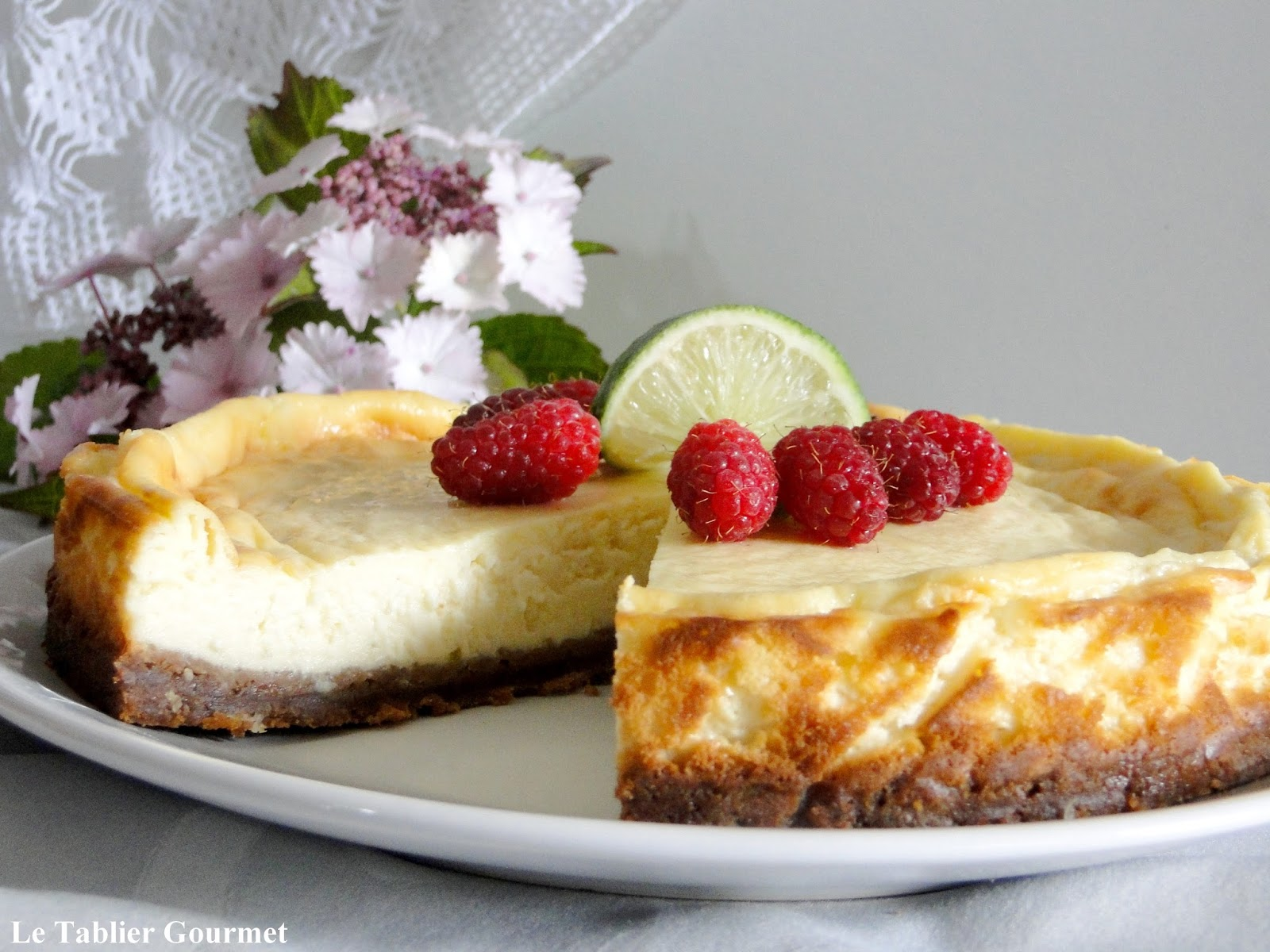 Le (faux) cheesecake au fromage blanc