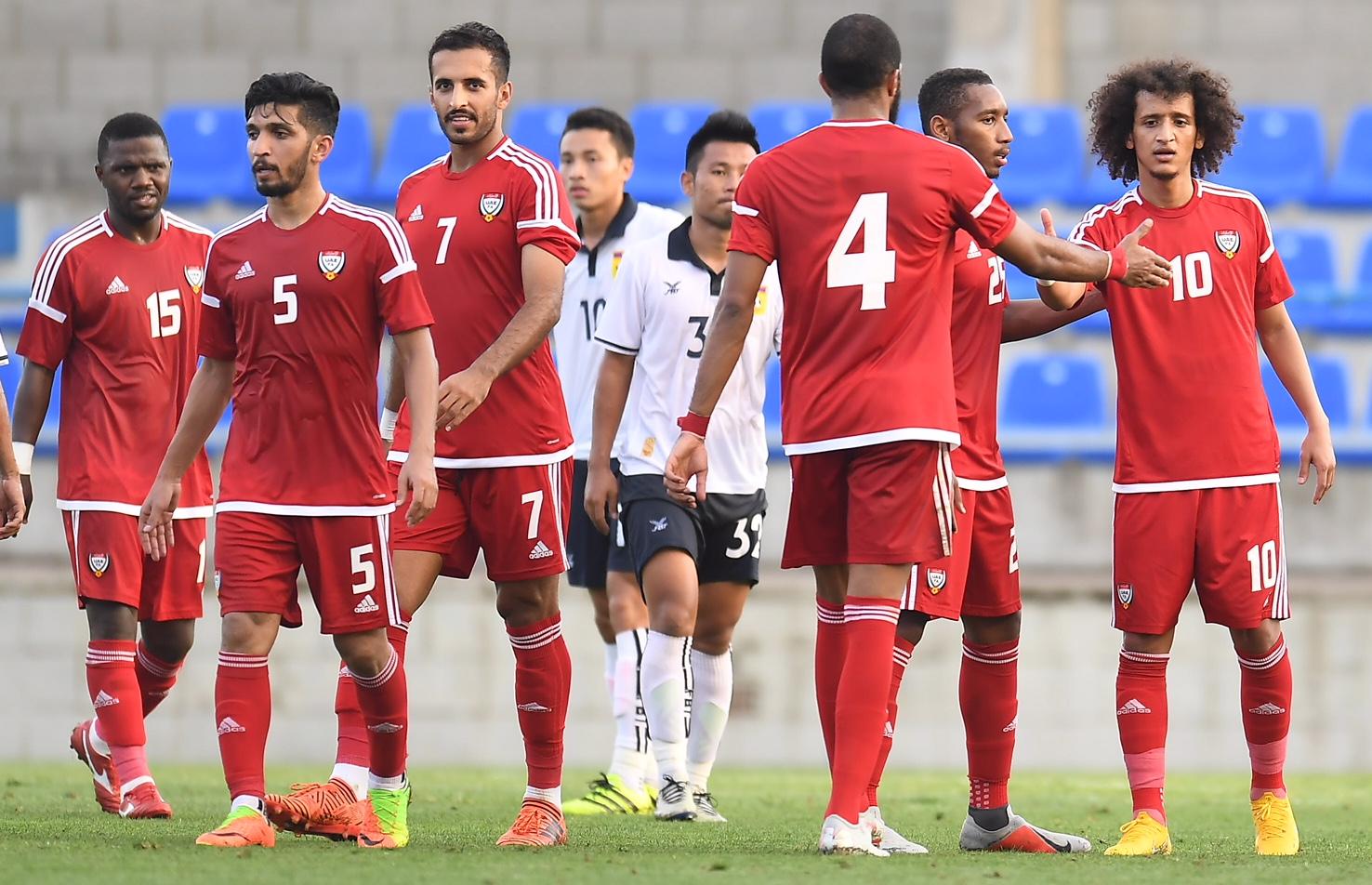 بث مباشر مباراة الامارات اليوم في كأس اسيا 2019 AFC Live