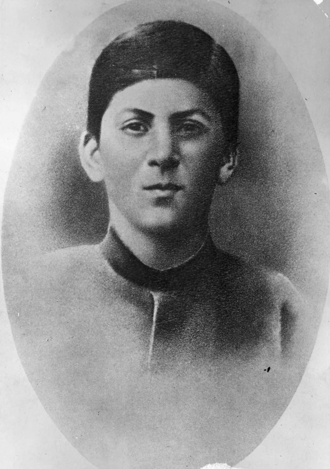 Stalin at age 15. 1894.