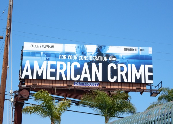 American Crime 2015 Emmy billboard