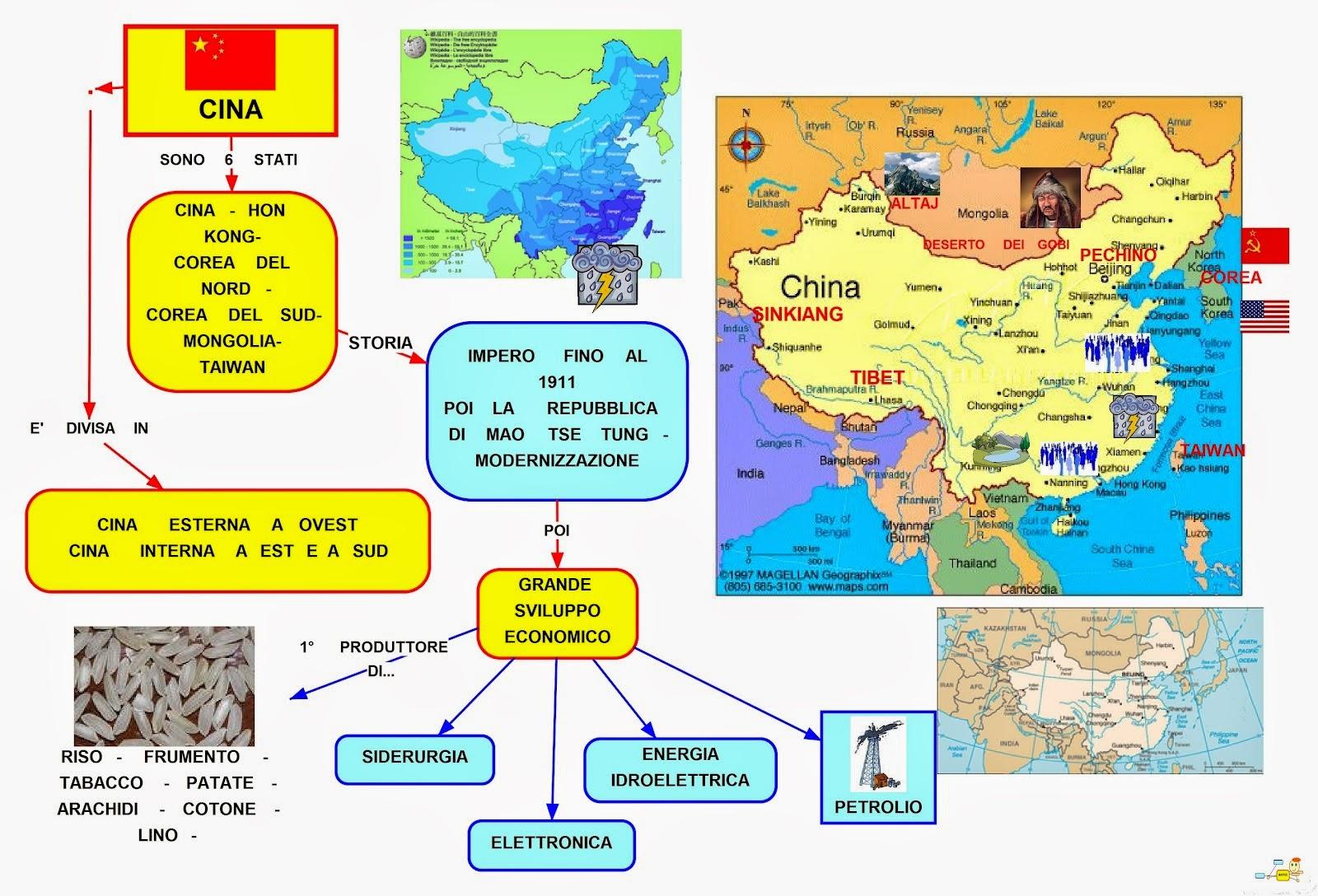 Cartina Climatica Cina.La Cina Lessons Blendspace