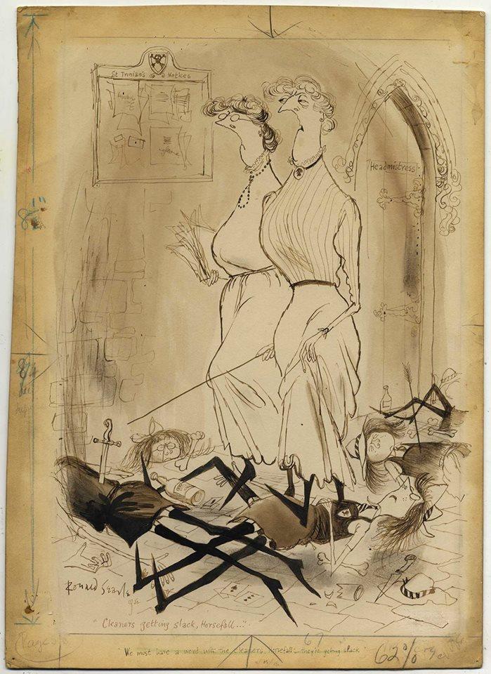 Lilliput Magazine Nov 1954 #5 Vintage Humour Art Stories Man's Gerald Kersh