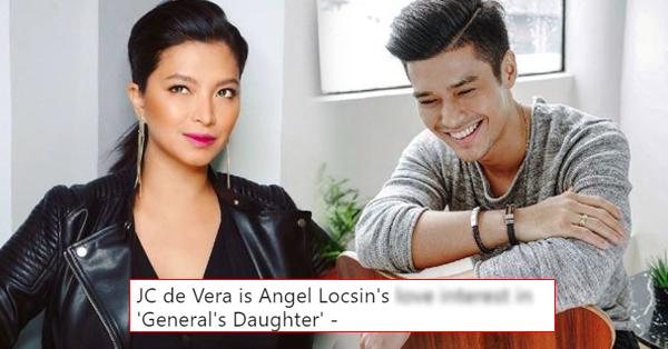 CONFIRMED: JC De Vera Is Angel Locsin's Love Interest In 'The General's Daughter'