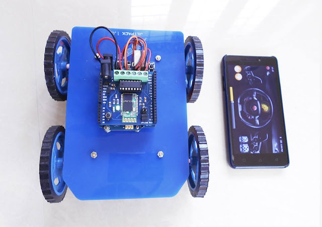 Fastest Mode To Construct In Addition To Plan An Arduino Robot Motorcar Wirelessly!