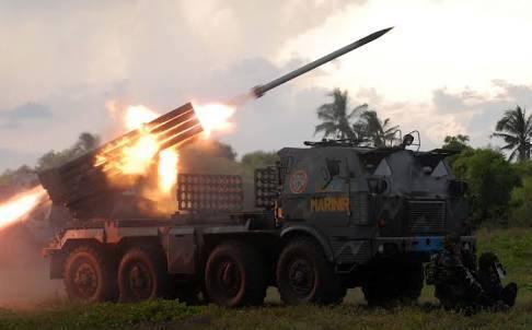 Roket louncher TNI