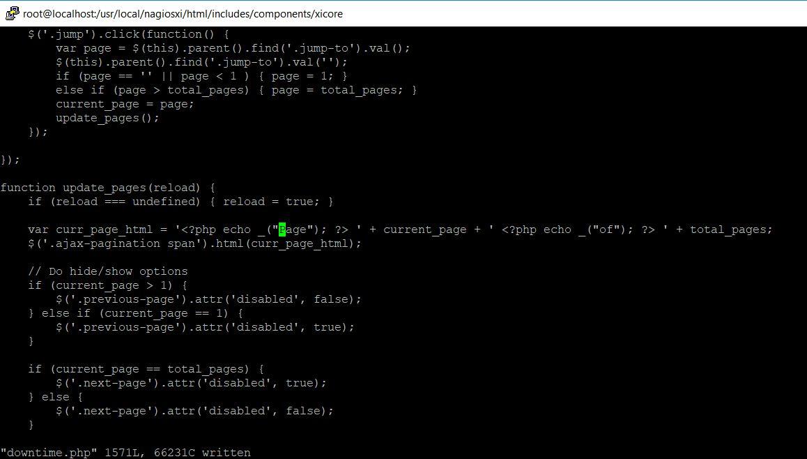 code16: Few bugs in latest Nagios XI 5 4 13