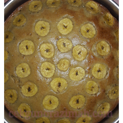 resepi kek pisang, resepi kek pisang sukatan cawan, kek pisang sedap, resepi kek pisang mudah