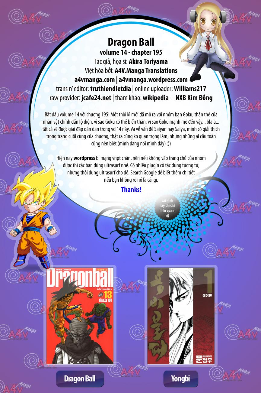 Dragon Ball chap 195 trang 1
